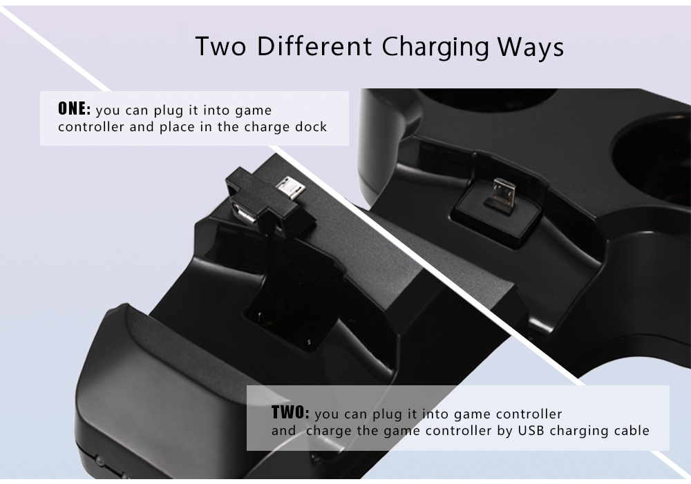 VR Charger for PS4 Four Controllers