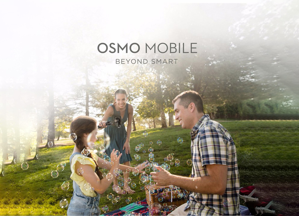 DJI Osmo Mobile 3-axis Handheld Gimbal for Smartphone ActiveTrack / Timelapse / Night Exposure / Live Streaming / Panorama