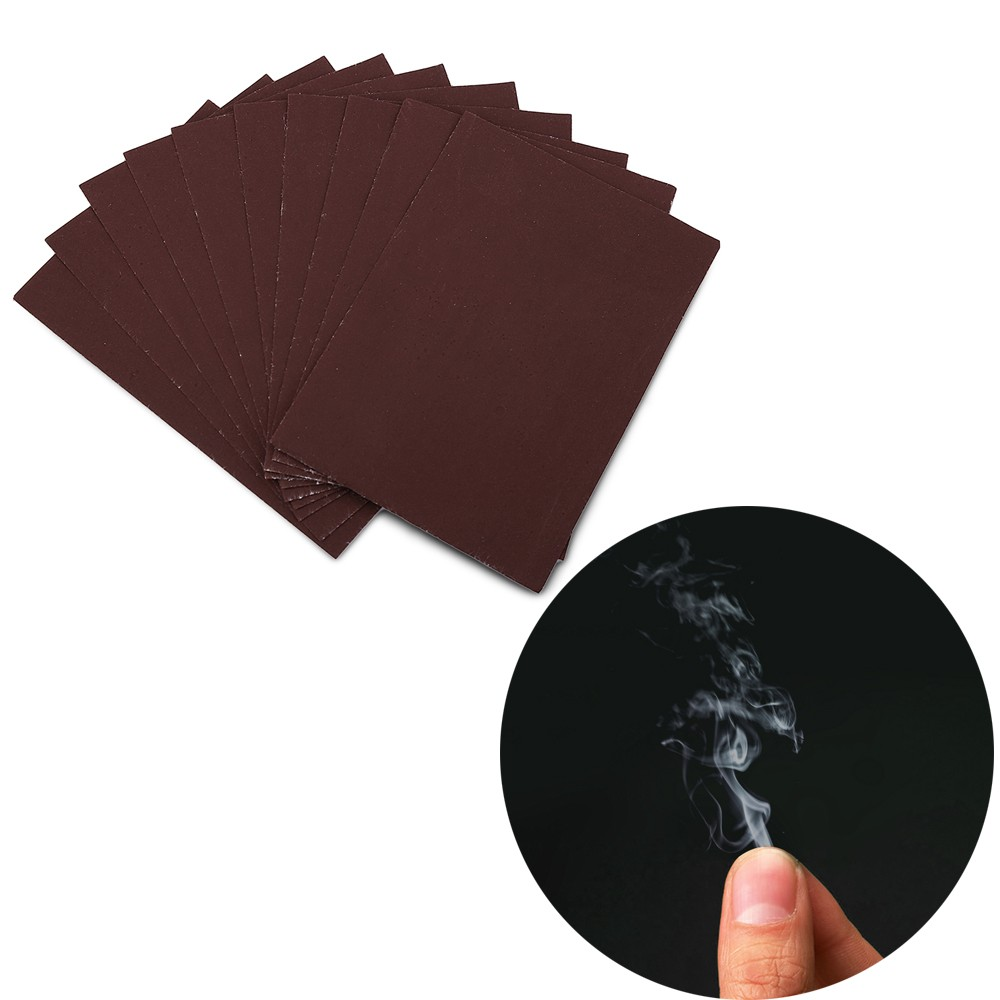 Smoke From Finger Tip Magic Trick Surprise Prank Joke Mystical Fun - 10pcs / set