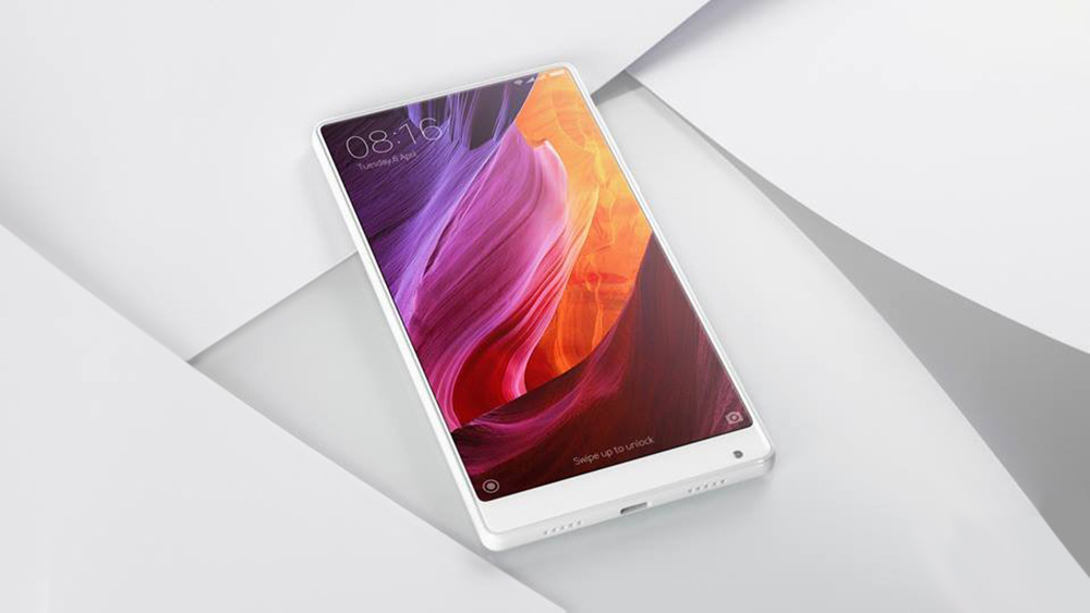Xiaomi Mi MIX 6.4 inch 4G Phablet MIUI 8 or Above Snapdragon 821 Quad Core 2.35GHz 4GB RAM 128GB ROM 5MP + 16MP Cameras NFC UFS 2.0 2040 x 1080 4400mAh Battery