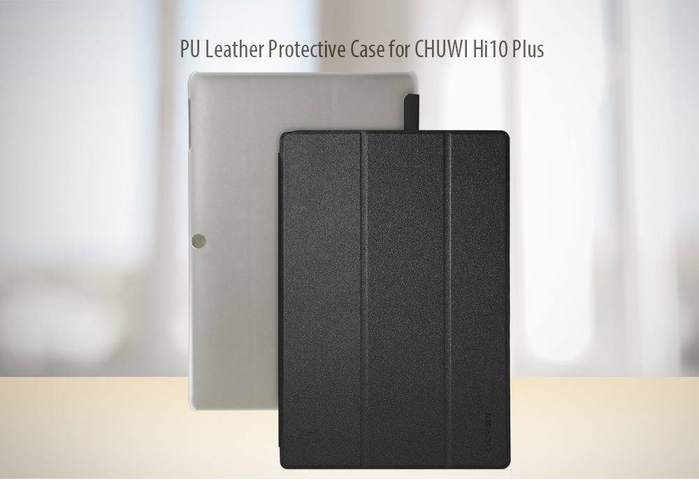 10.8 inch PU Leather Protective Case Full Body Stand Design for CHUWI Hi10 Plus