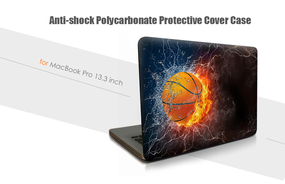 Anti-shock PC Hard Case Protector for MacBook Air 13.3 inch Color Inkjet Printing