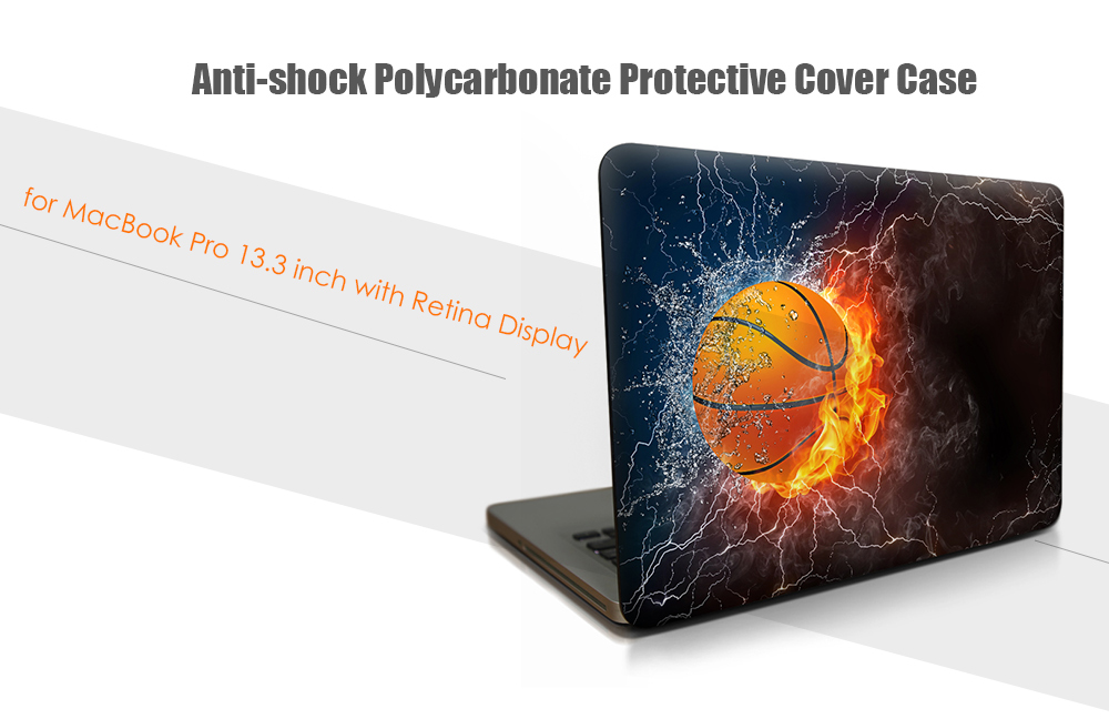 Anti-shock PC Hard Case Protector for MacBook Pro 13.3 inch with Retina Display Color Inkjet Printing