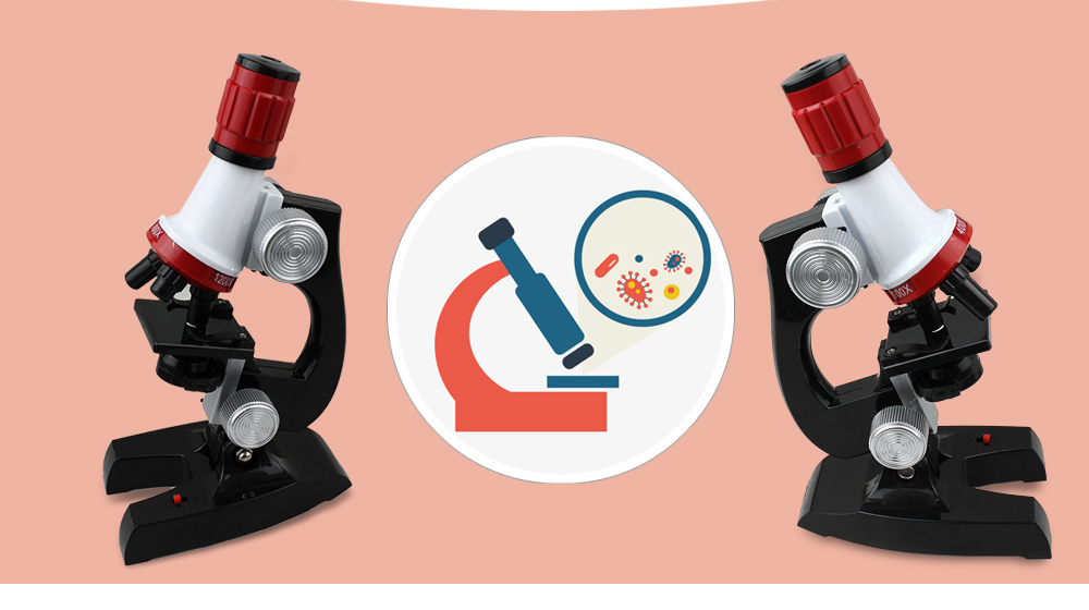 Regulation Science Student Biological Microscope Educational Toy