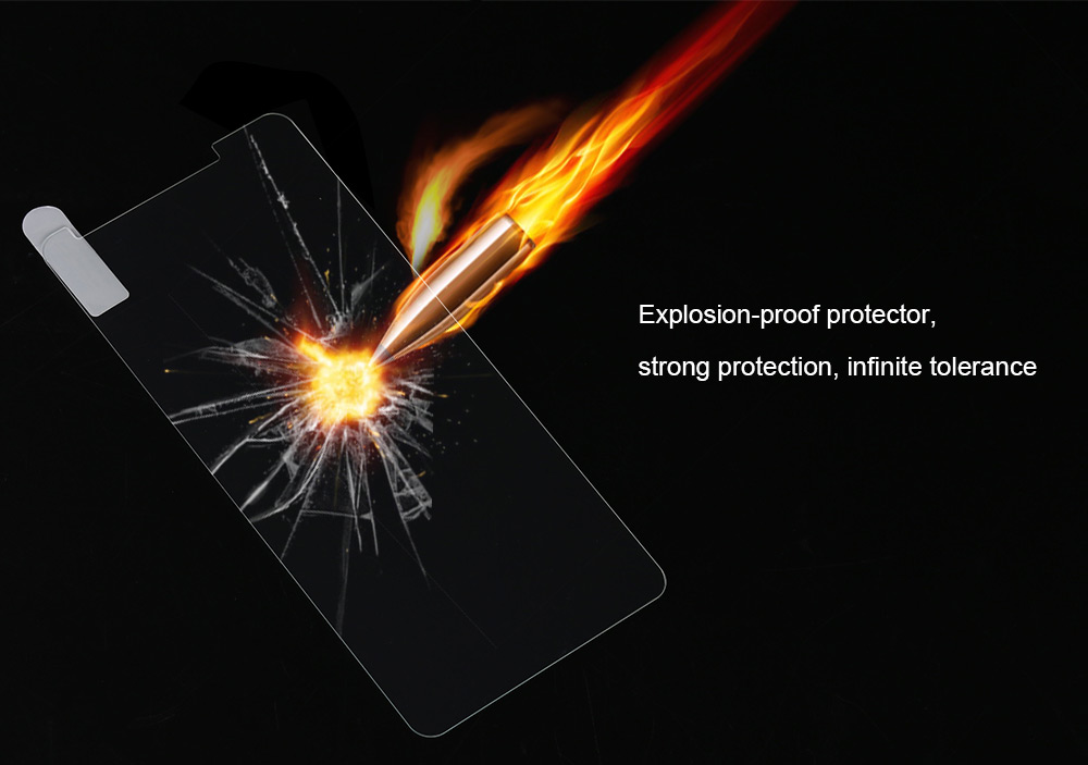 OCUBE Tempered Glass Screen Protective Film for DOOGEE Y6 0.26mm 2.5D 9H Explosion-proof Protector