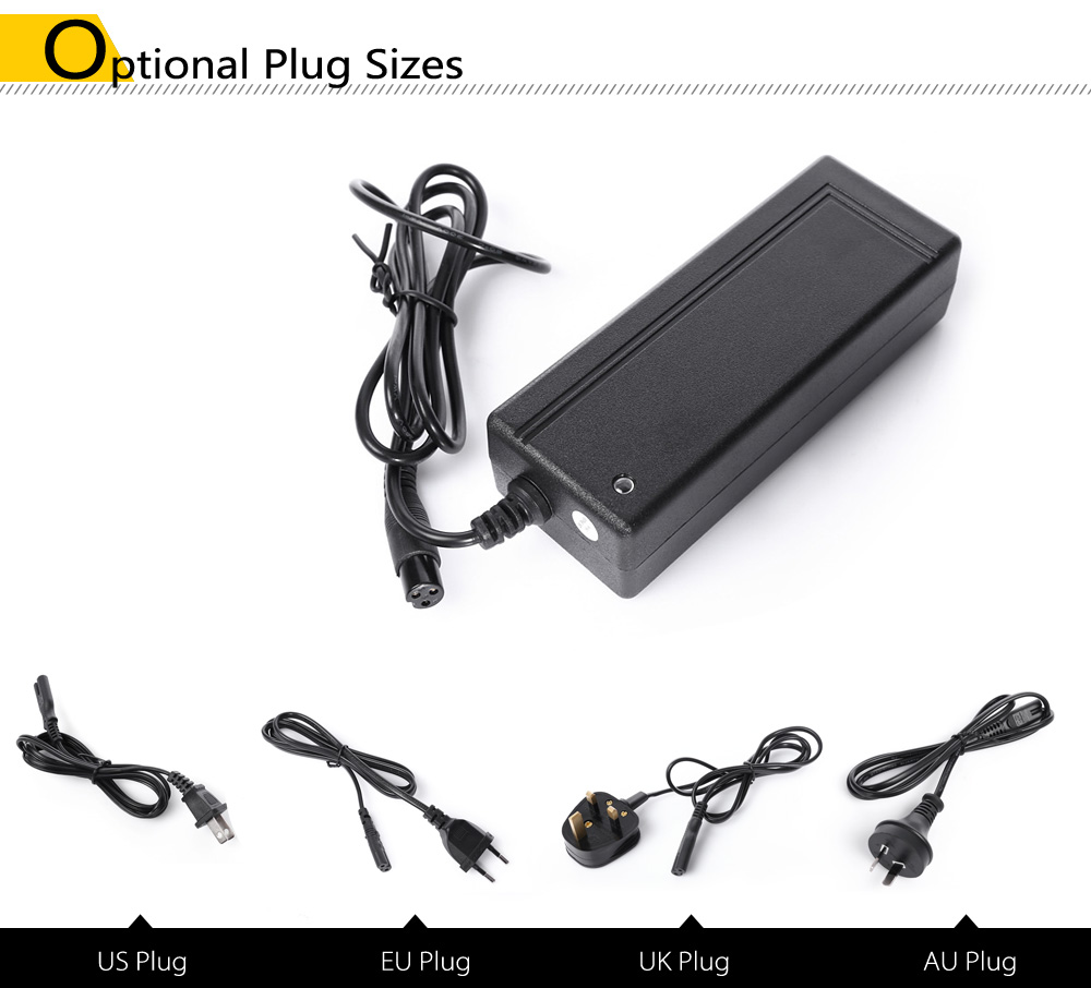 CD COMING DATA CP3615 36V 1.5A Lithium-ion Battery Charger Adapter with XLR Connector for Scooter