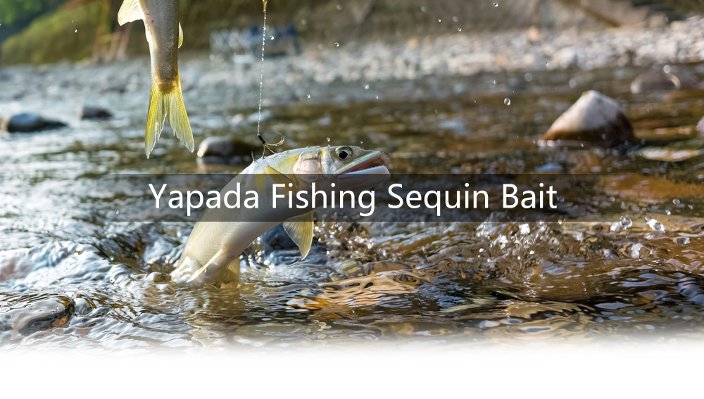 Yapada 501 20g Spear Style Hard Fishing Sequin Lure with Barbed Hook