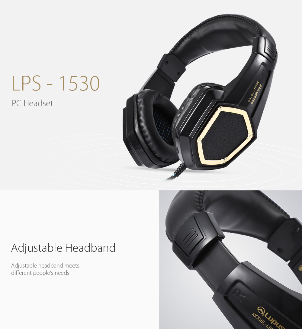 Lupuss - 1530 PC Headset with On-cord Volume Control