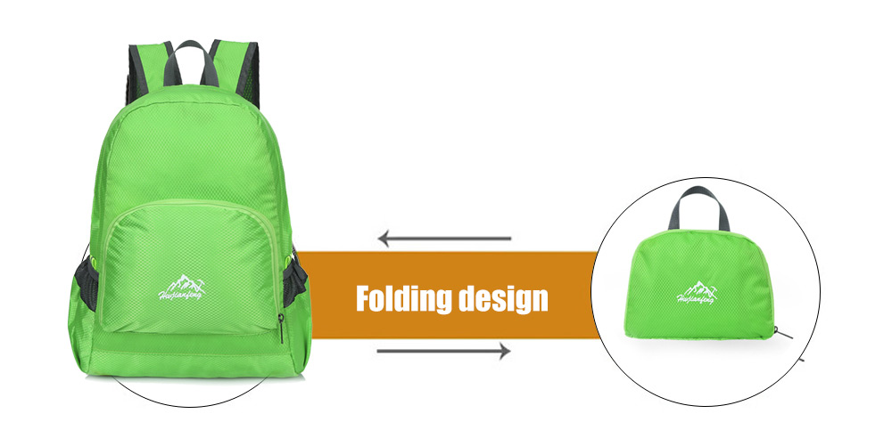 HUWAIJIANFENG 508 Ultra-light Water-resistant 20L Leisure Backpack Folding Style Bag