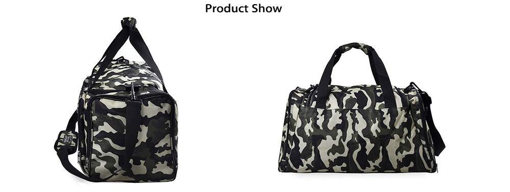 Douguyan Military Camo Outdoor Single-shoulder Bag 38.6L Travel Holdall