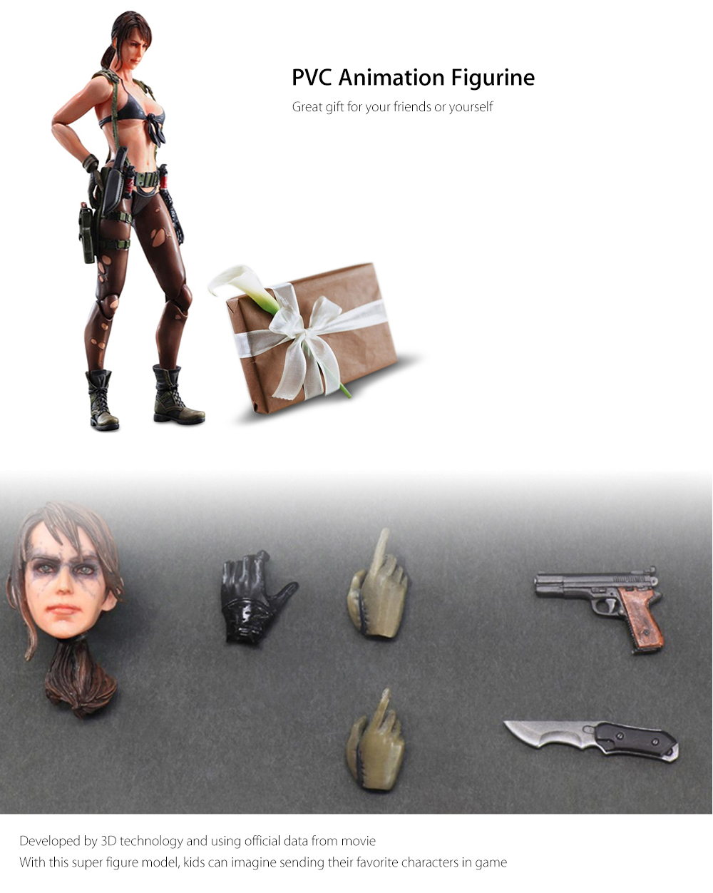 BEILEXING PVC Model Action Game Collectible Figurine Toy - 10.63 inch