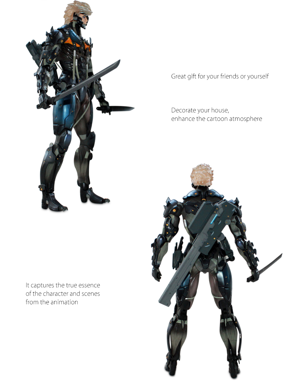 BEILEXING PVC Figure Model Action Game Collectible Figurine Toy - 9.84 inch