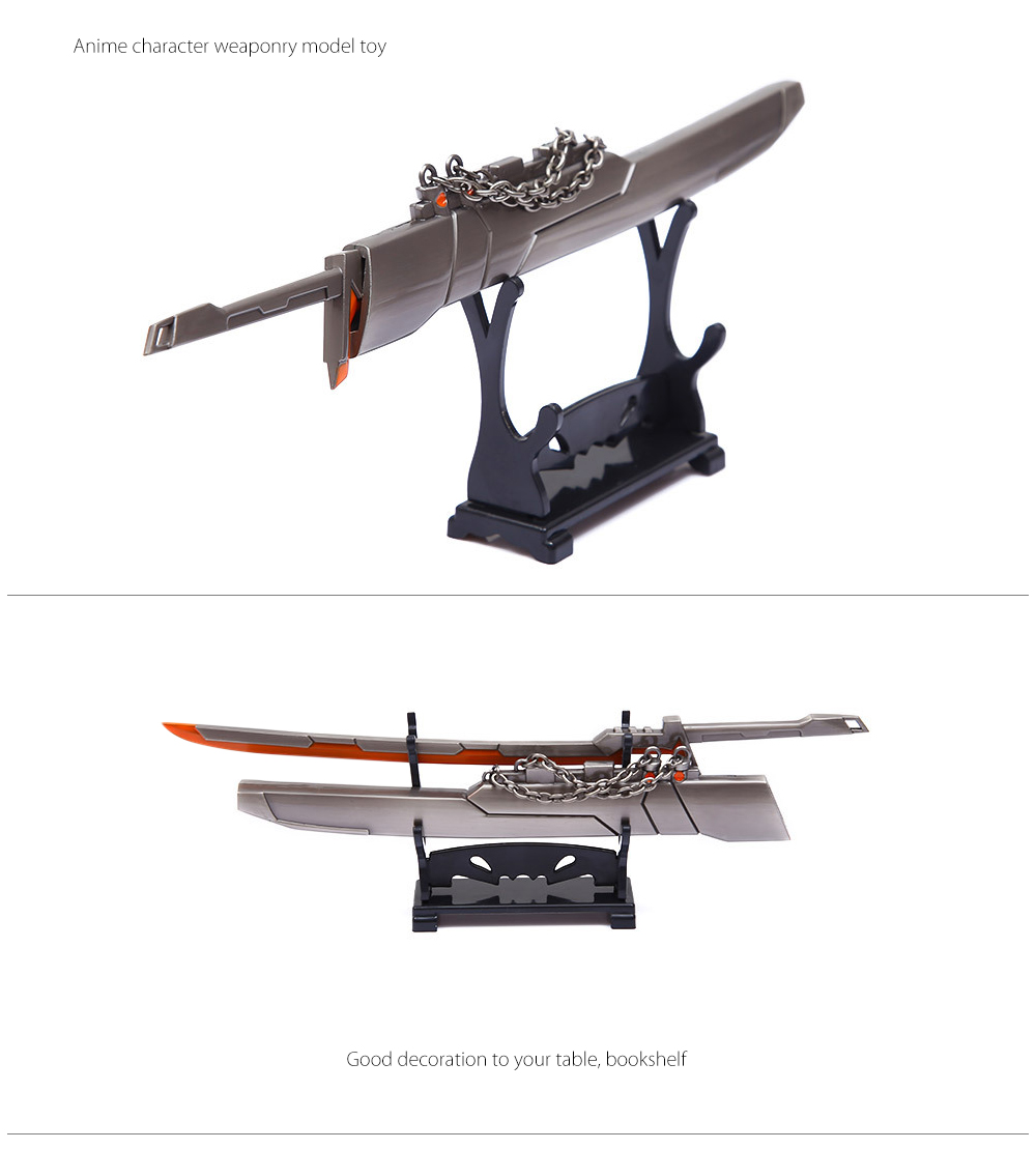 BEILEXING Alloy Weapon Online Video Game Cosplay Accessory
