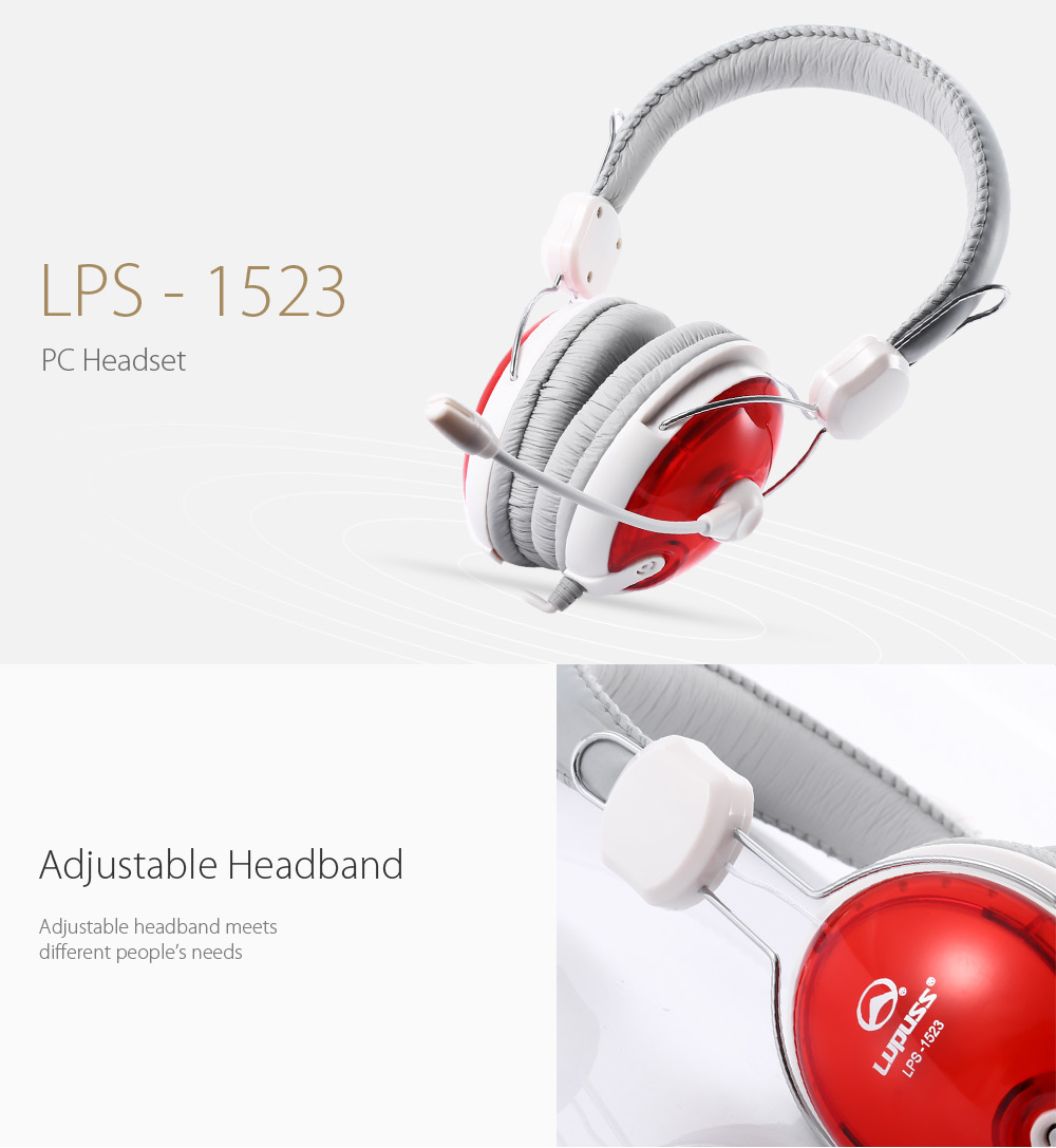 Lupuss - 1523 Noise-canceling On-cord Control PC Headset