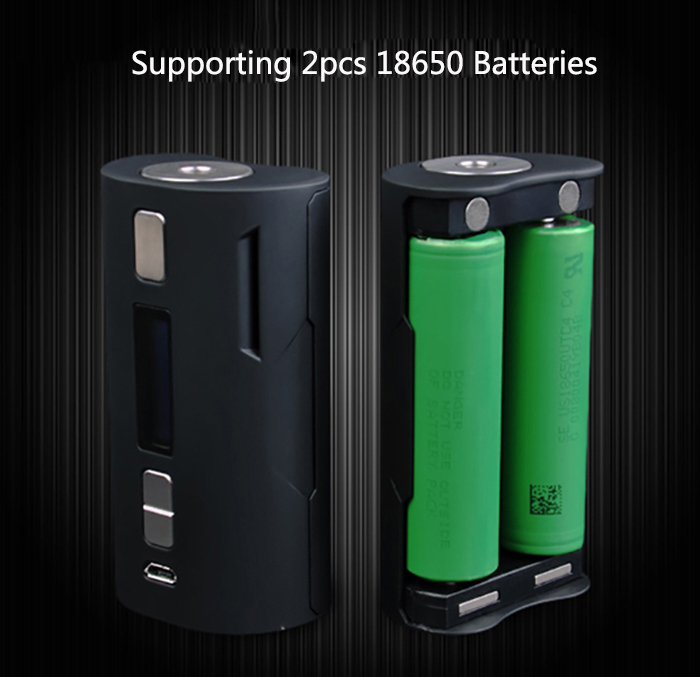 Original S BODY C2D1 DNA 250 Chip 167W TC Box Mod with 1 - 167W / 200 - 600F / TC - Ni / Ti / 316SS for E Cigarette