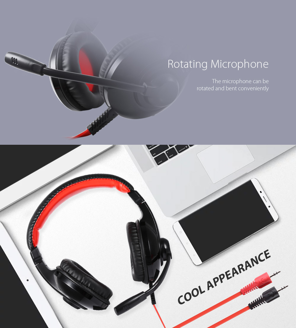 NUBWO - 550 Noise-canceling On-cord Control PC Headset