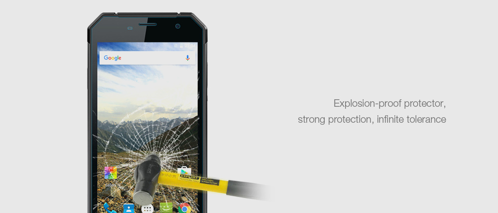 Nomu S30 Blue-ray Cut Tempered Glass Screen Film Protector