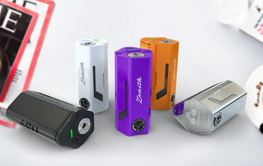 Original IJOY MAXO Zenith Box Mod with 300W / 2.7 - 6.2V / Supporting Triple 18650 Cells for E Cigarette