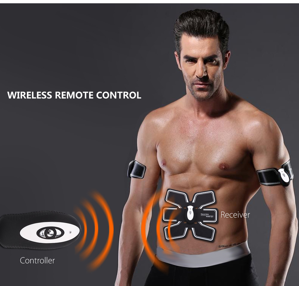 Cenovo Wireless Smart Fitness Gear EMS Muscle Training Equipment for Arm Abdomen Thigh