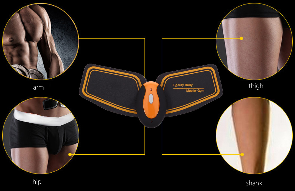 Cenovo High-end Wireless USB Charge Smart Fitness Gear EMS Muscle Training Equipment for Arm Abdomen Thigh
