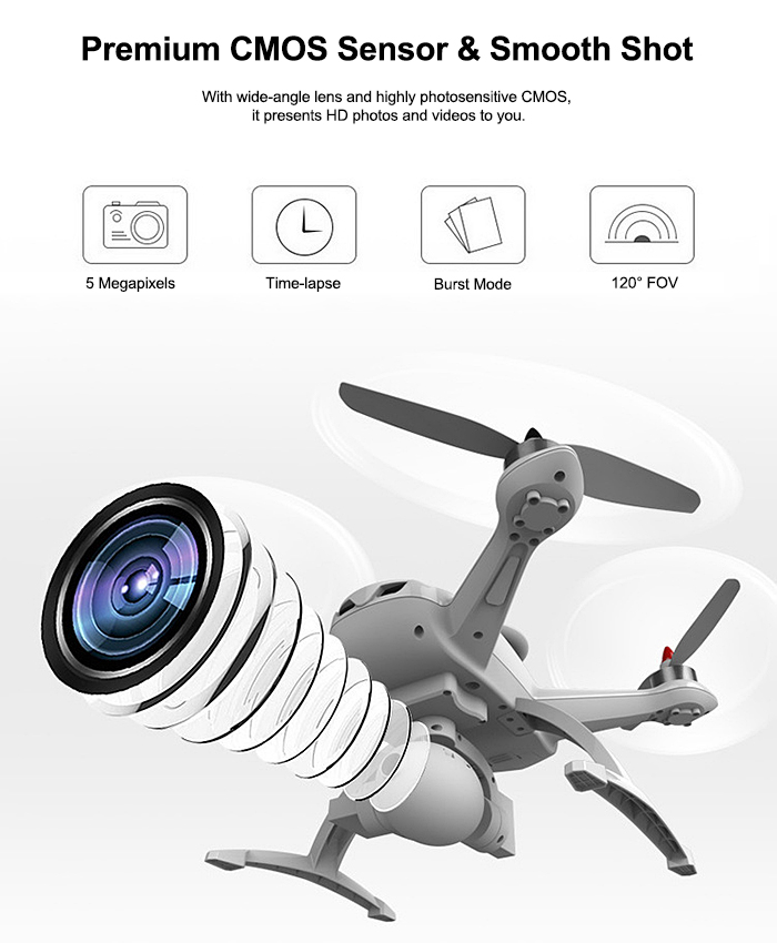 AOSENMA CG035 RC Brushless Drone RTF 5.8G FPV 1080P HD 2.4GHz 6-axis Gyro GPS BDS Dual Positioning Systems Follow Me Mode