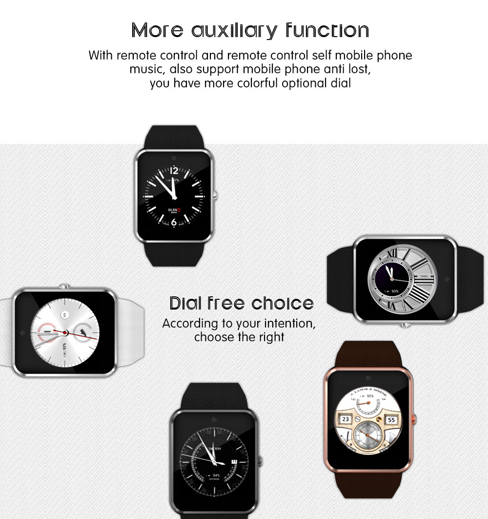 TenFifteen QW08 Smartwatch Phone Android 4.4 1.54 inch MTK6572 Dual Core 1.2GHz 4GB ROM Sleep Monitoring Pedometer Camera