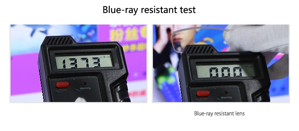 Shubao 86006 Blue-ray Resistant Presbyopic Glasses with +1.00 Diopter Lens