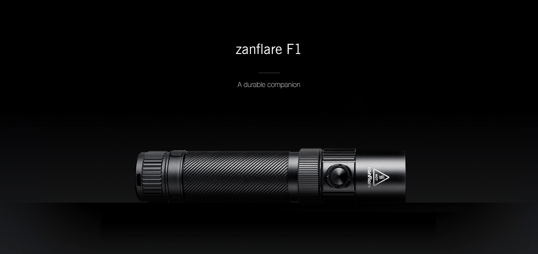zanflare F1 Cree XPL V6 1240Lm Rechargeable LED Flashlight