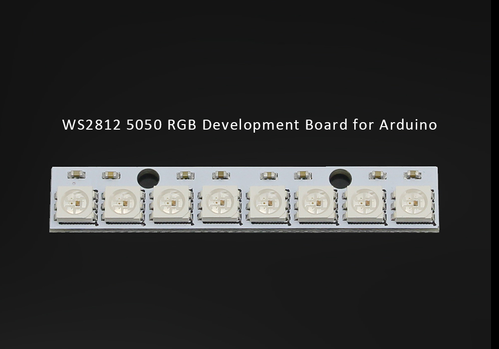 WS2812 5050 RGB Development Board LED Full-Color 8 Bit Driving Lights for Arduino DIY Parts