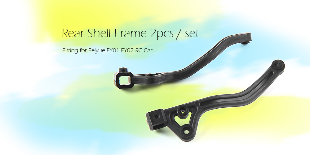 Feiyue FY01 FY02 F12063 - 064 Rear Shell Frame R / L RC Vehicle Spare Part - 2Pcs