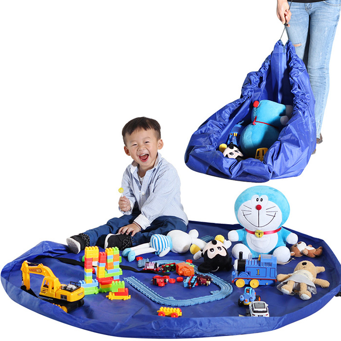 150cm Large Size Baby Portable Toy Storage Bag Drawstring Tether Pouch
