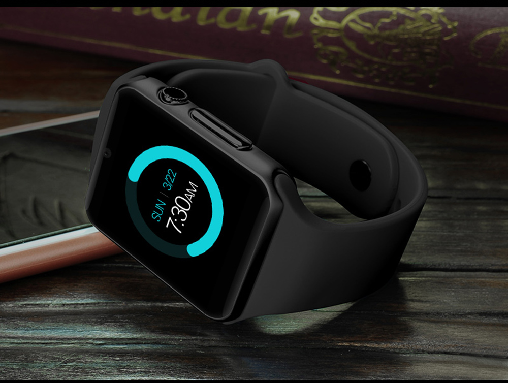 A1S Smartwatch Phone 1.54 inch MTK6261 Remote Camera Sleep Monitoring Sedentary Reminder