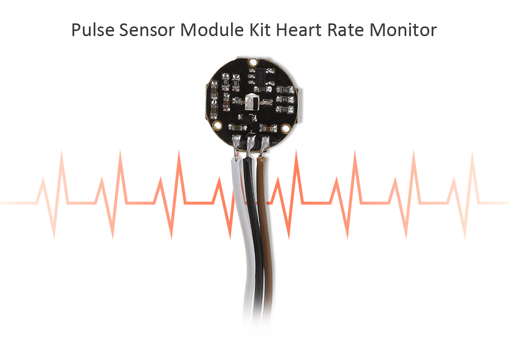 Pulse Sensor Module for Heart Rate Monitoring
