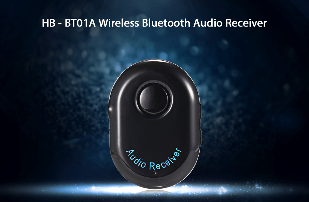 HB - BT01A Mini Wireless Bluetooth Music Receiver with Hands-free Call Function
