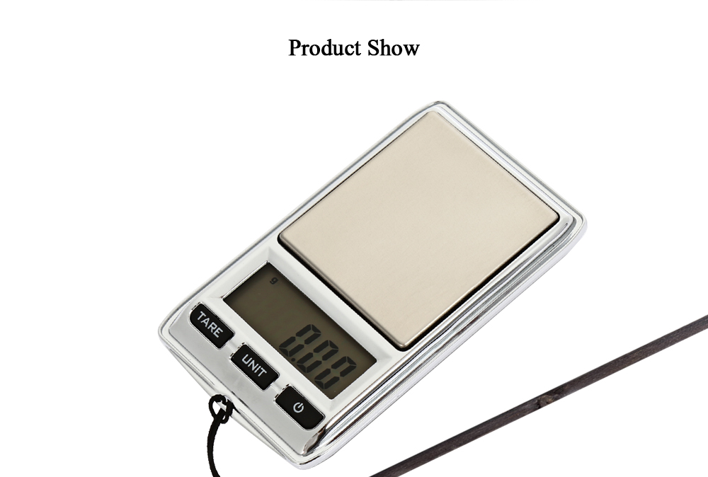 DS - 22 Portable 0.01g Accuracy LCD Digital Jewelry Scale