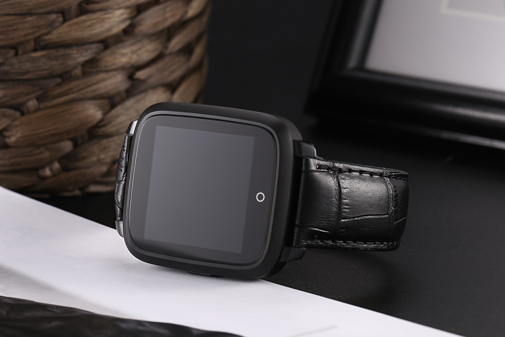 Uwear U11S Smartwatch Phone 1.54 inch Android 5.1 MTK6580 1.3GHz Quad Core 1GB RAM 8GB ROM Pedometer Heart Rate Measurement
