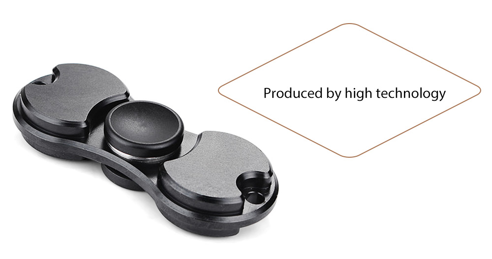 Titanium Alloy Bearing Gyro Style Stress Reliever Pressure Reducing Toy for Office Worker