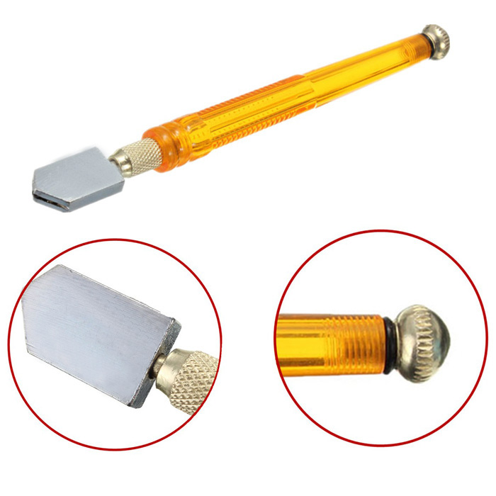 Portable Diamond Minerals Tipped Glass Cutting Tool