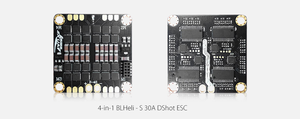 Flytower Tower Structure F3 Brushless Flight Controller with Integrated BLHeli - S 30A DShot ESC / 5.8G 40CH VTX / OSD BEC