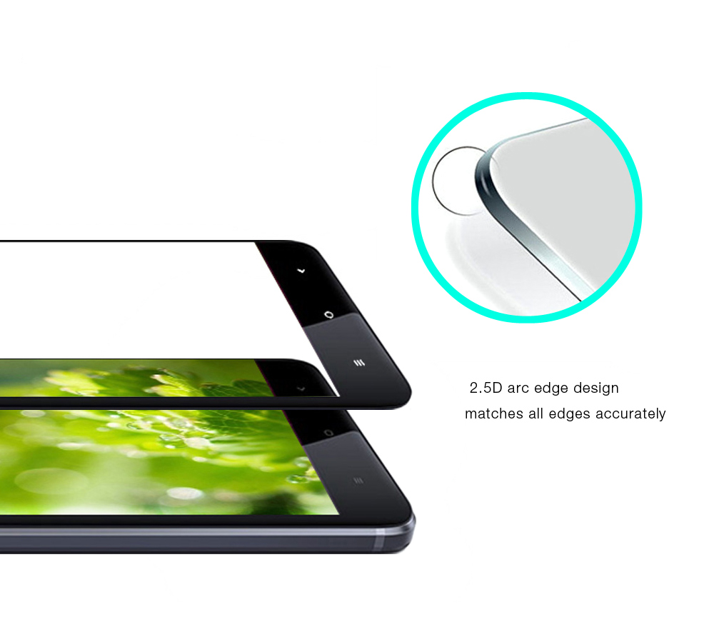 Luanke Tempered Glass Full Cover Screen Film for Xiaomi Redmi Note 4X Ultra-thin Explosion-proof Protector