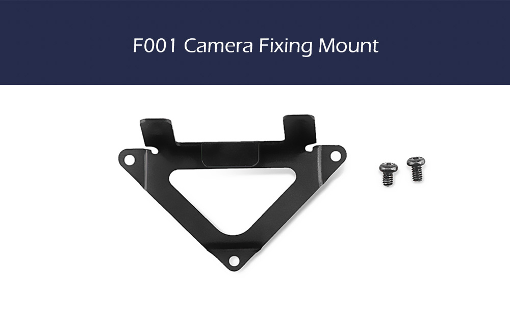 F001 Camera Fixing Mount for JJRC H36 / Inductrix BLH8700 / Tiny Whoop / FuriBee F36 / E010