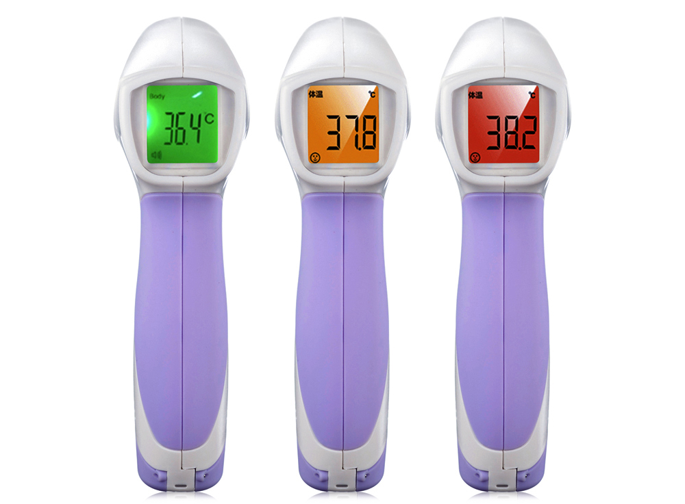36 Degree HT - 668 Non-contact Infrared Thermometer Forehead IR Body Temperature Measuring Tool