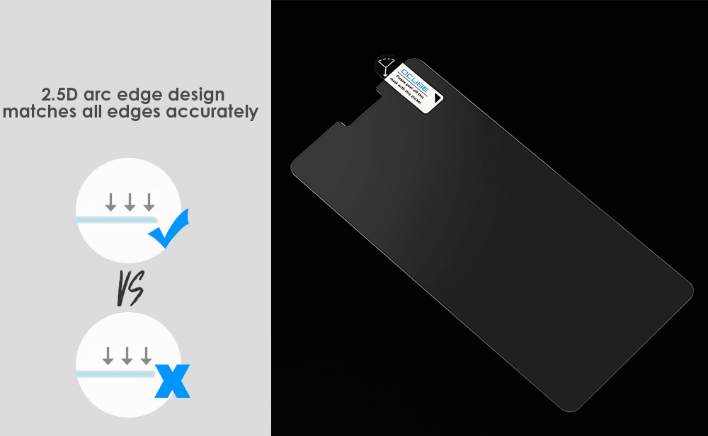 OCUBE Tempered Glass Screen Film for UMI Super 0.26mm 2.5D 9H Explosion-proof Protective Membrane