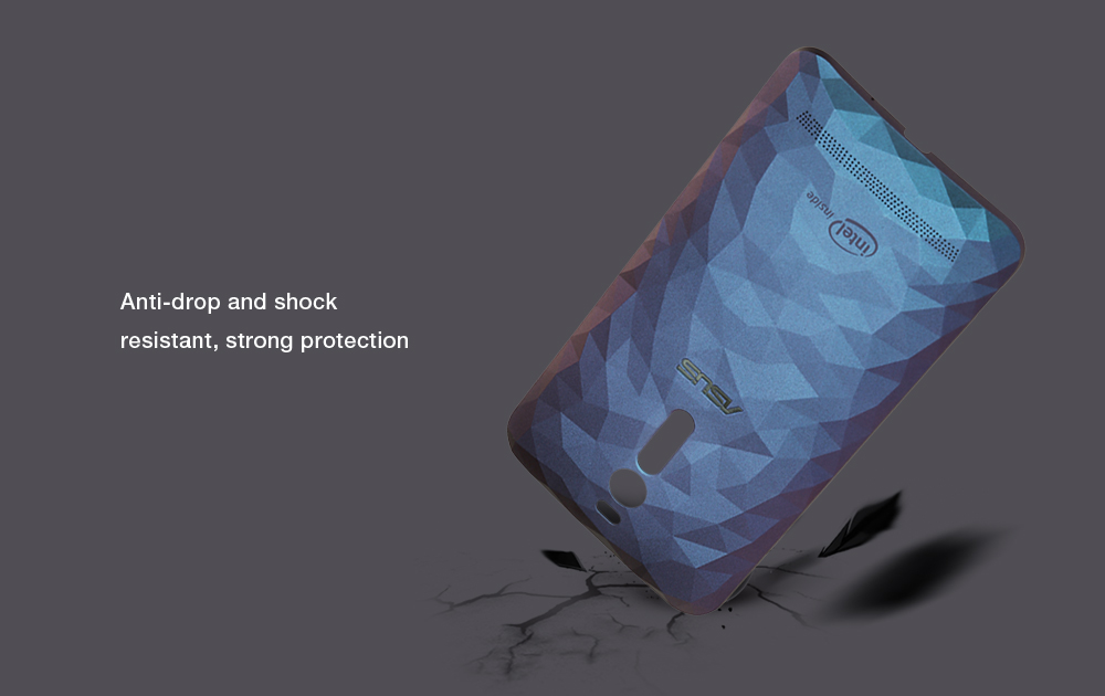 Original Diamond Outlook PC Hard Phone Back Case Protector for Asus Zenfone 2 ZE551ML