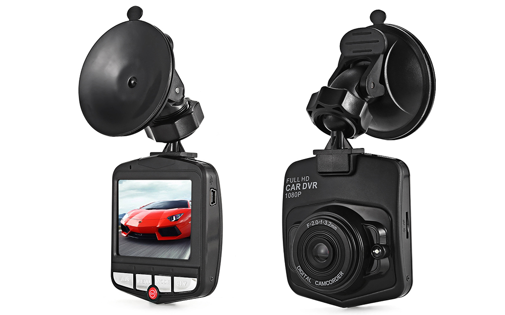 HD 720P 1.2MP 2.31 inch Screen 120 Degree View Angle Car Vehicle Dashcam DVR Recorder with Generalplus Chipset Loop Recording