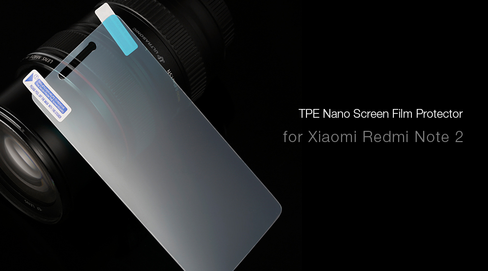 Nano Screen Protector for Xiaomi Redmi Note 2 0.18mm Ultra-thin 9H Explosion-proof Anti-fingerprints Protective Film