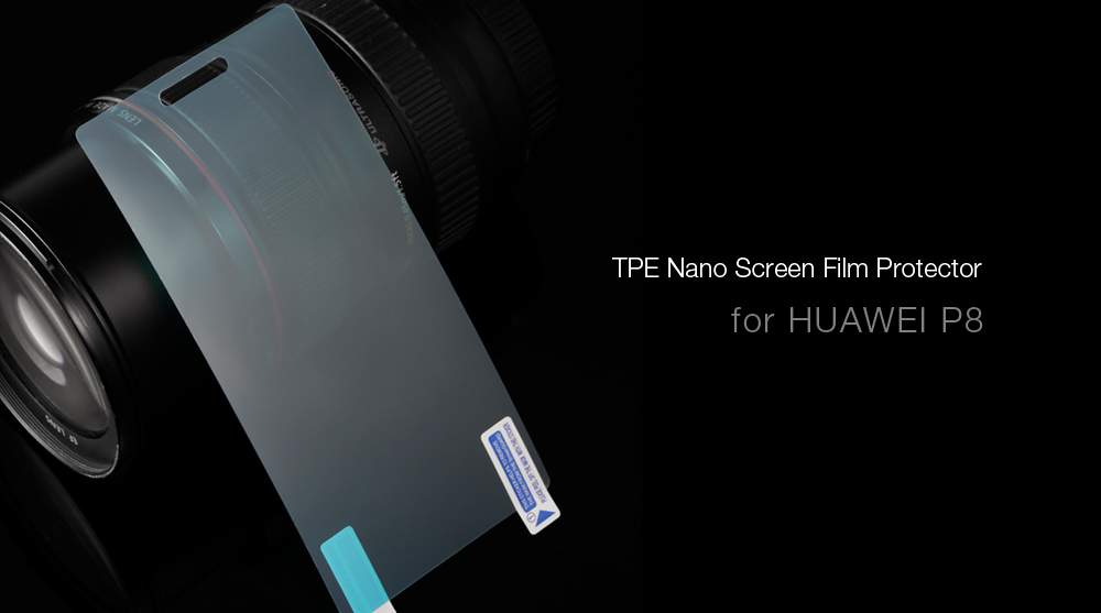 Nano Screen Protector for HUAWEI P8 0.18mm Ultra-thin 9H Explosion-proof Anti-fingerprints Protective Film