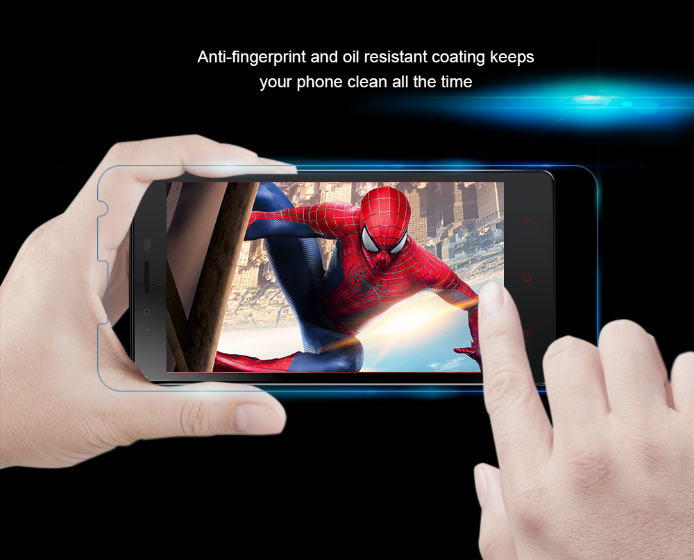 OCUBE Tempered Glass Screen Protective Film for Oukitel U7 Plus Ultra-thin 0.26mm 2.5D 9H Explosion-proof Protector