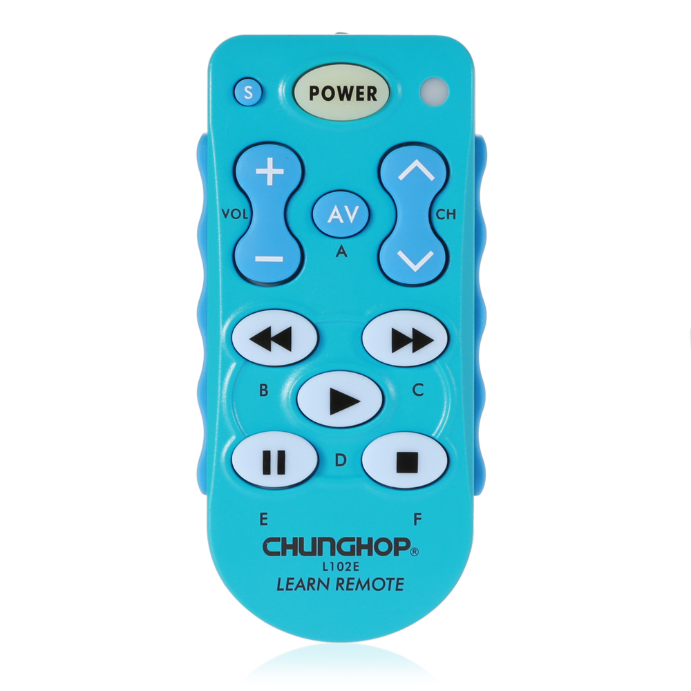 CHUNGHOP L102E Universal Single 11 Key Learning IR Remote Control for DVD Player