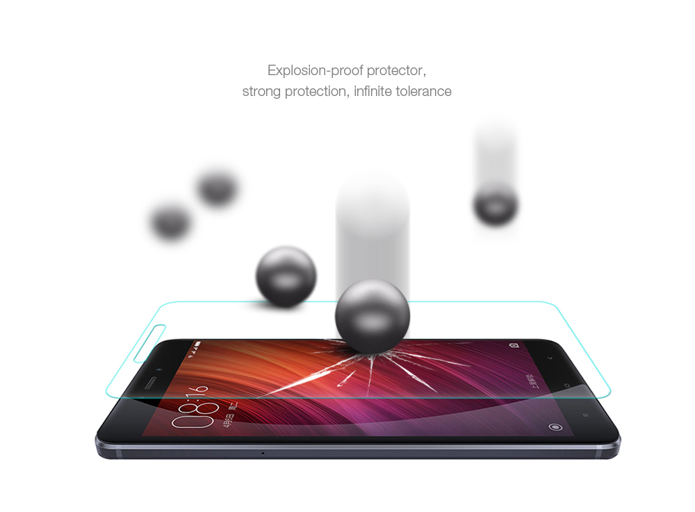 ASLING Tempered Glass Screen Film for Xiaomi Redmi Note 4X Ultra-thin Explosion-proof Protector